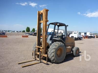 2003 CASE 586G 6000 Lb 4x4 Rough Terrain Forklift