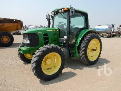 2012 JOHN DEERE 6430 MFWD Tractor