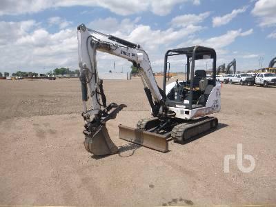 2002 BOBCAT 334D Mini Excavator (1 - 4.9 Tons)