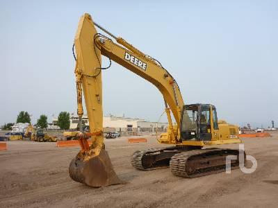 2002 JOHN DEERE 270C LC Hydraulic Excavator