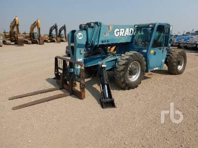 2007 GRADALL 544D10 10000 Lb 4x4x4 Telescopic Forklift