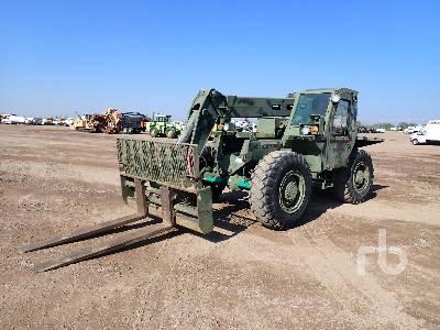 1990 LULL 10K 10000 Lb 4x4x4 Telescopic Forklift