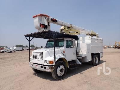 1998 INTERNATIONAL 4700 S/A w/Terex Hi-Ranger XT5 Bucket Truck