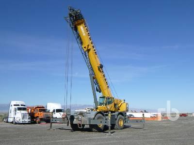 2007 GROVE RT890E 90 Ton 4x4 Rough Terrain Crane