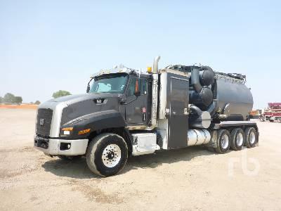 2015 CATERPILLAR CT660 Premier CV200 13 CY Tri Drive Hydro Vac Truck