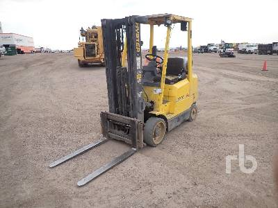 2003 HYSTER S50XM 4800 Lb Forklift