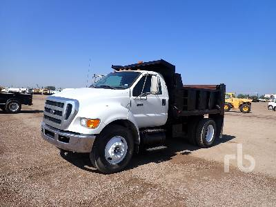 2008 FORD F750 Dump Truck (S/A)