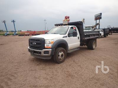 2013 FORD F550 Dump Truck (S/A)