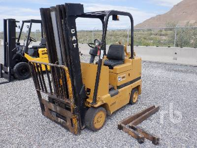 CATERPILLAR T45C 4500 Lb Forklift