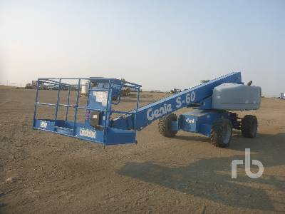 2005 GENIE S60 Boom Lift 4x4 Parts/Stationary Construction-Other