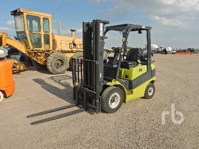2015 CLARK C25L 5000 Lb Forklift