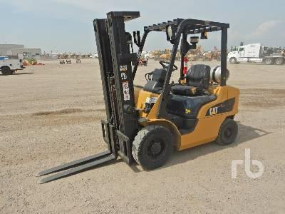 2014 CATERPILLAR 2P5000 5000 Lb Forklift