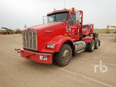 2013 KENWORTH T800B Winch Tractor
