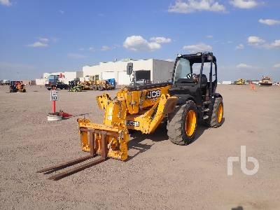 JCB 535-140 7700 Lb 4x4x4 Telescopic Forklift