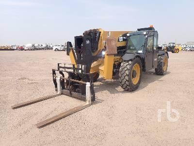 2012 CAT TL1055C 10000 Lb 4x4x4 Telescopic Forklift