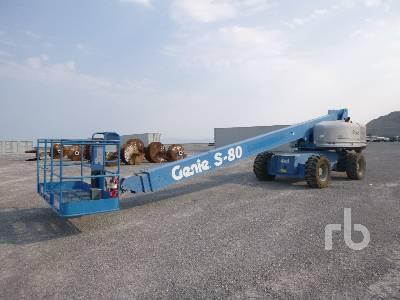 2007 GENIE S-80 4x4 Boom Lift