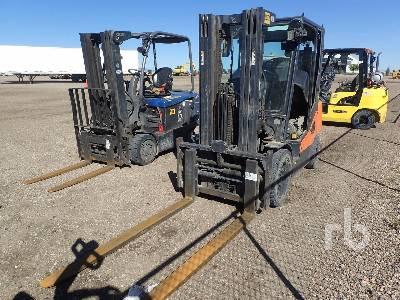 2015 DOOSAN D33S-7T4 6500 Lb Forklift