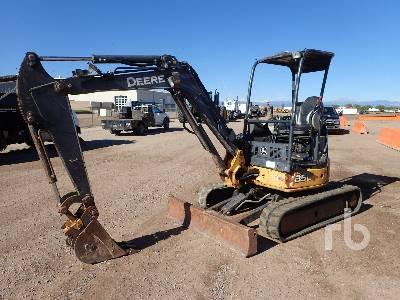 2014 JOHN DEERE 35D Mini Excavator (1 - 4.9 Tons)