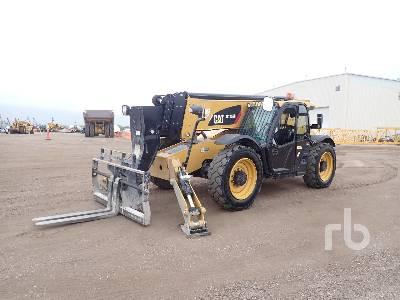 2016 CATERPILLAR TL1255D 12000 Lb 4x4x4 Telescopic Forklift