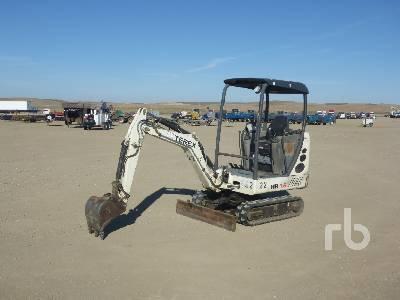 2005 TEREX HR16 Mini Excavator (1 - 4.9 Tons)