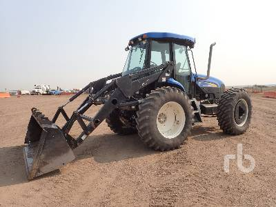 2012 NEW HOLLAND TV6070 4x4 Bi-Directional Tractor