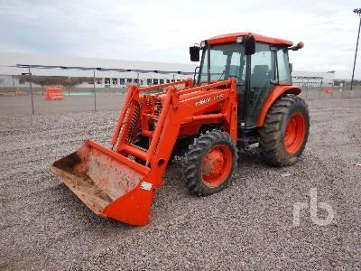2004 KUBOTA M6800 MFWD Tractor