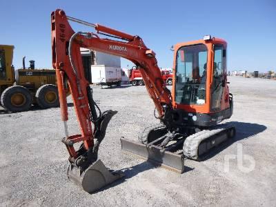 2014 KUBOTA KX91-3S2 Mini Excavator (1 - 4.9 Tons)