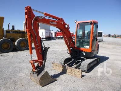 2014 KUBOTA KX91-R3S2 Mini Excavator (1 - 4.9 Tons)