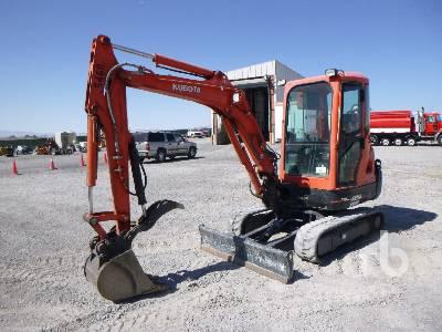 2013 KUBOTA KX91-3 Mini Excavator (1 - 4.9 Tons)