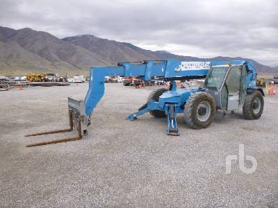 2011 GENIE GTH1056 10,000 lb 4x4x4 Telescopic Forklift