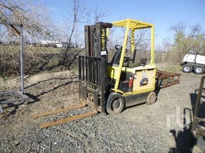 2006 HYSTER E45Z 4250 Lb Ride On Electric Forklift