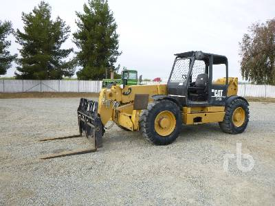 CAT TH103 Telescopic Forklift
