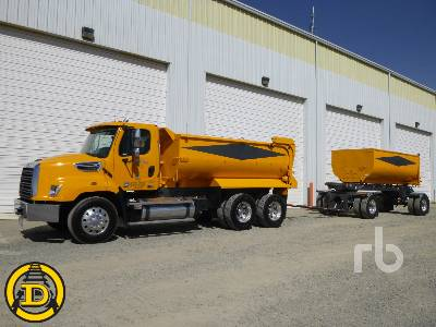 2014 FREIGHTLINER 114SD T/A Transfer Set