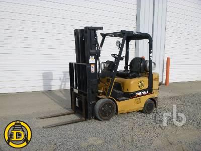2004 CATERPILLAR GC25K 5000 Lb Forklift