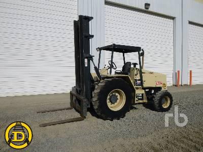 2000 INGERSOLL-RAND RT708H 8000 Lb 4x4 Rough Terrain Forklift