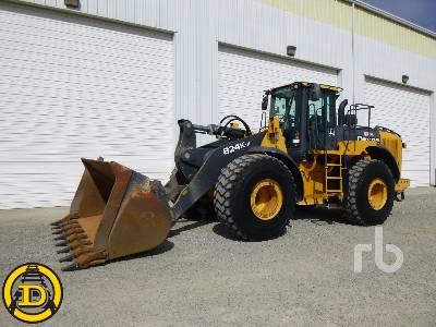 2015 JOHN DEERE 824K -II Wheel Loader