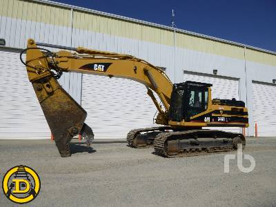 2004 CATERPILLAR 345B Series II Hydraulic Excavator