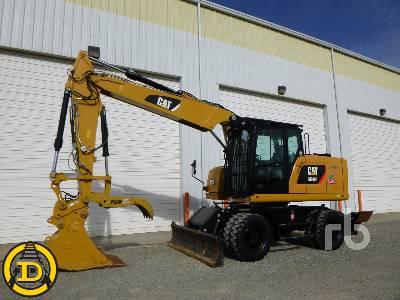 2015 CATERPILLAR M318F Mobile Excavator