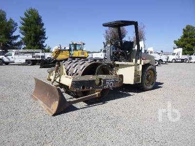 2000 INGERSOLL-RAND SD70F Propac Vibratory Padfoot Compactor