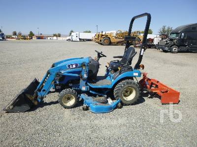2017 LS MTRON MT122H 4WD Utility Tractor