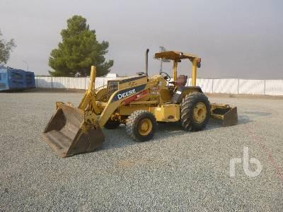 2005 JOHN DEERE 210LE 4x4 Skip Loader