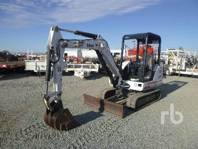 2002 BOBCAT 331 Mini Excavator (1 - 4.9 Tons)