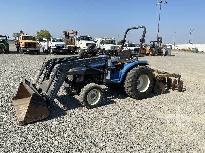 NEW HOLLAND TC29 Disc and Mower Included Utility Tractor