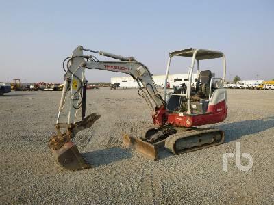 2017 TAKEUCHI TB230R Mini Excavator (1 - 4.9 Tons)