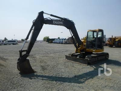 2010 JOHN DEERE 85D Midi Excavator (5 - 9.9 Tons)