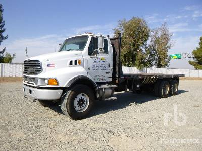 2005 STERLING 7500 6x4 Flatbed Truck