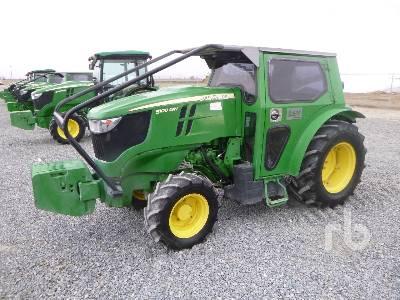 2018 JOHN DEERE 5100GN MFWD Tractor