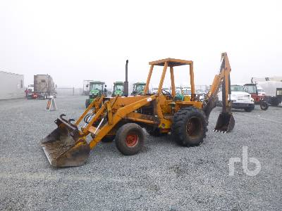 1973 CASE 580B Loader Backhoe