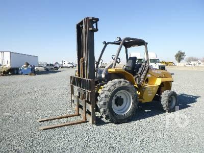 2012 MANITOU M40-2T 8000 Lb Forklift