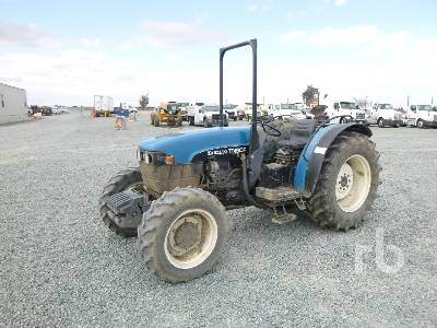 1999 NEW HOLLAND TN90F MFWD Tractor